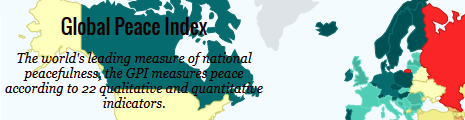 Global Peace Index banner