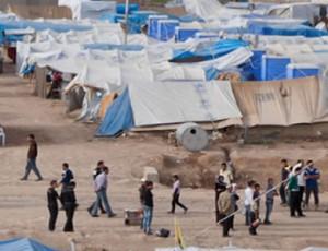 UNHCR refugee camp