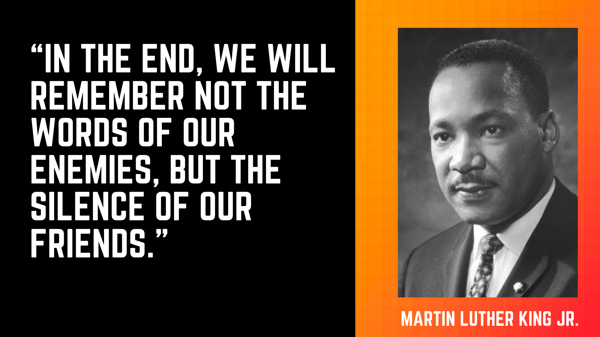 Martin Luther King Jr and quote
