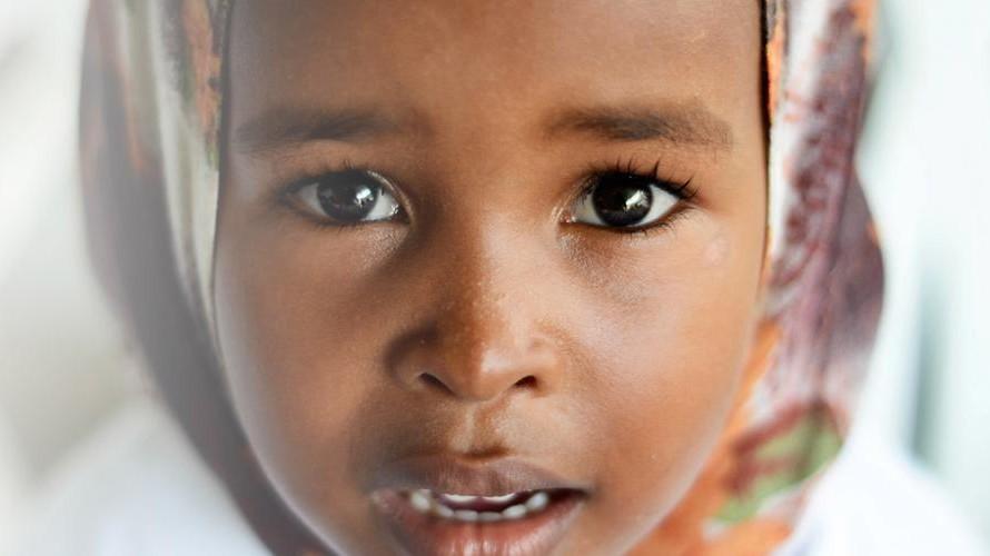 Girl of African decent